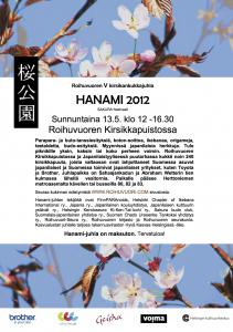 Hanami 2012 juliste