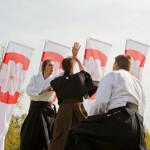 Yakatarasun aikido-esitys. Kuva Emilia Pippola