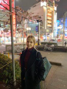 Suomen II kirsikankukkakuningatar Ella Saarenko